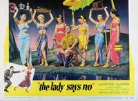 The Lady Says No - 11 x 14 Movie Poster - Style A