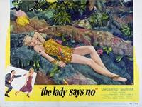 The Lady Says No - 11 x 14 Movie Poster - Style B