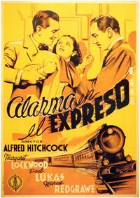 The Lady Vanishes - 11 x 17 Movie Poster - Spanish Style A