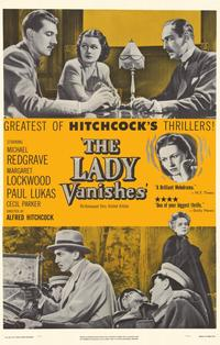 The Lady Vanishes - 11 x 17 Movie Poster - Style B