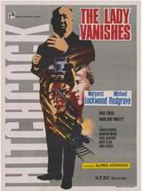 The Lady Vanishes - 43 x 62 Movie Poster - Bus Shelter Style A