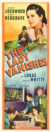 The Lady Vanishes - 14 x 36 Movie Poster - Insert Style A