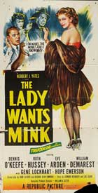 The Lady Wants Mink - 20 x 40 Movie Poster - Style A