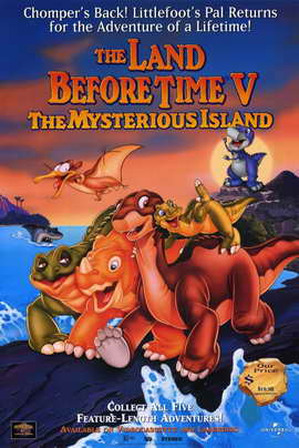 The Land Before Time V:  The Mysterious Island - 11 x 17 Movie Poster - Style A