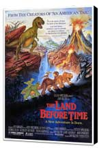 The Land Before Time - 27 x 40 Movie Poster - Style A - Museum Wrapped Canvas