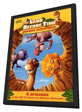 The Land Before Time - 11 x 17 Movie Poster - Style A - in Deluxe Wood Frame