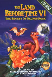 The Land Before Time VI: The Secret of Saurus Rock - 27 x 40 Movie Poster - Style A