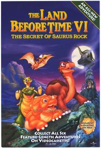 The Land Before Time VI: The Secret of Saurus Rock - 43 x 62 Movie Poster - Bus Shelter Style A