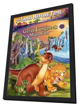 The Land Before Time X - 27 x 40 Movie Poster - Style A - in Deluxe Wood Frame