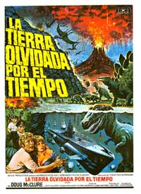 The Land That Time Forgot - 11 x 17 Movie Poster - Spanish Style B