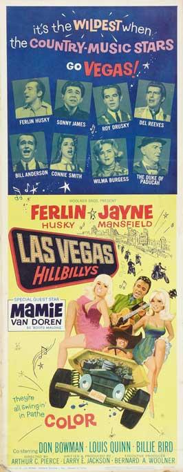 The Las Vegas Hillbillys - 14 x 36 Movie Poster - Insert Style A