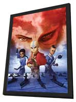 The Last Airbender - 11 x 17 Movie Poster - Style E - in Deluxe Wood Frame