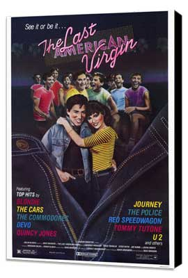 The Last American Virgin - 27 x 40 Movie Poster - Style A - Museum Wrapped Canvas