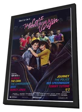 The Last American Virgin - 11 x 17 Movie Poster - Style A - in Deluxe Wood Frame