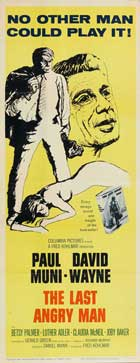 The Last Angry Man - 14 x 36 Movie Poster - Insert Style A