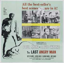 The Last Angry Man - 27 x 40 Movie Poster - Style A