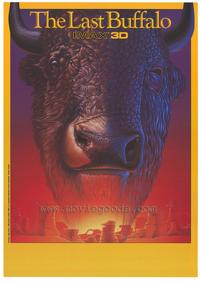 The Last Buffalo (IMAX) - 43 x 62 Movie Poster - Bus Shelter Style A