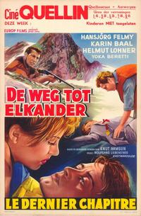 The Last Chapter - 11 x 17 Movie Poster - Belgian Style A