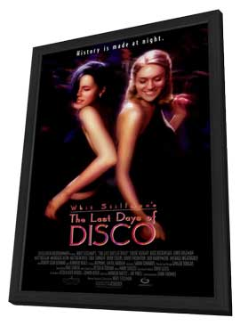 The Last Days of Disco - 27 x 40 Movie Poster - Style A - in Deluxe Wood Frame