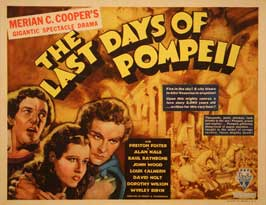 The Last Days of Pompeii - 22 x 28 Movie Poster - Half Sheet Style A
