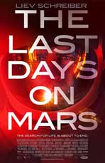 The Last Days on Mars - 27 x 40 Movie Poster - Style A - in Deluxe Wood Frame