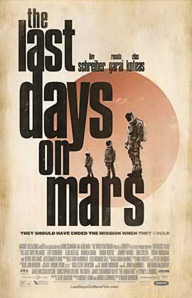 The Last Days on Mars - 11 x 17 Movie Poster - Style C - in Deluxe Wood Frame