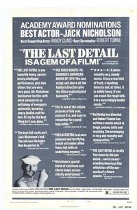 The Last Detail - 11 x 17 Movie Poster - Style C