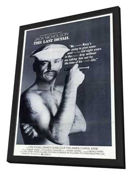 The Last Detail - 27 x 40 Movie Poster - Style B - in Deluxe Wood Frame