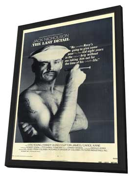 The Last Detail - 11 x 17 Movie Poster - Style B - in Deluxe Wood Frame