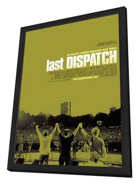 The Last Dispatch - 11 x 17 Movie Poster - Style A - in Deluxe Wood Frame