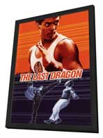 The Last Dragon - 11 x 17 Movie Poster - Style C - in Deluxe Wood Frame