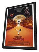 The Last Dragon - 27 x 40 Movie Poster - Style A - in Deluxe Wood Frame