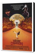 The Last Dragon - 27 x 40 Movie Poster - Style A - Museum Wrapped Canvas