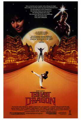 The Last Dragon - 27 x 40 Movie Poster - Style A