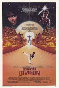 The Last Dragon - 43 x 62 Movie Poster - Bus Shelter Style A