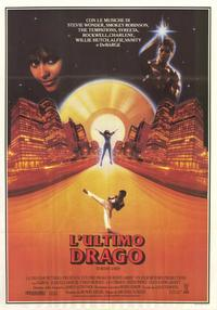 The Last Dragon - 39 x 55 Movie Poster - Italian Style A