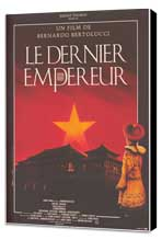 The Last Emperor - 27 x 40 Movie Poster - French Style B - Museum Wrapped Canvas