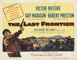 The Last Frontier - 22 x 28 Movie Poster - Half Sheet Style A
