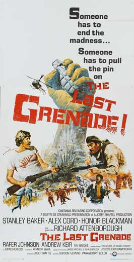 The Last Grenade - 11 x 17 Movie Poster - Style B