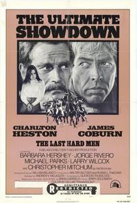 Last Hard Men - 27 x 40 Movie Poster - Style B