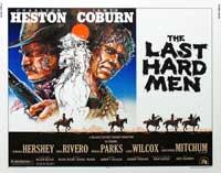 Last Hard Men - 22 x 28 Movie Poster - Half Sheet Style A