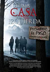 The Last House on the Left - 11 x 17 Movie Poster - Spanish Style A