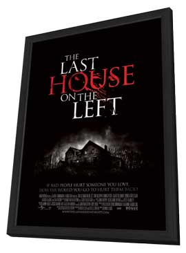 The Last House on the Left - 11 x 17 Movie Poster - Swedish Style A - in Deluxe Wood Frame