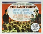 The Last Hunt - 22 x 28 Movie Poster - Half Sheet Style A