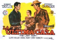 The Last Hunt - 27 x 40 Movie Poster - Spanish Style A