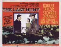 The Last Hunt - 22 x 28 Movie Poster - Half Sheet Style B
