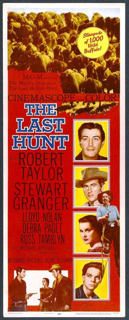 The Last Hunt - 14 x 36 Movie Poster - Insert Style A