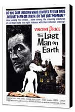 The Last Man on Earth - 27 x 40 Movie Poster - Style A - Museum Wrapped Canvas