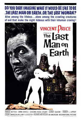 The Last Man on Earth - 27 x 40 Movie Poster - Style A