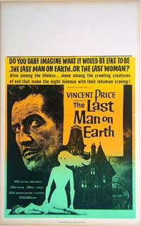 The Last Man on Earth - 11 x 17 Movie Poster - Style B